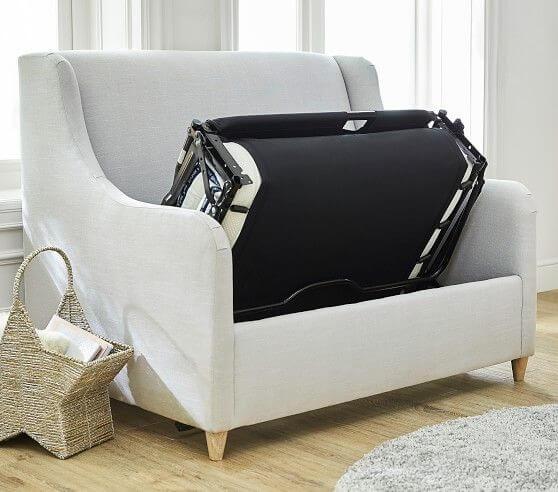 Poltrona cama para quarto de bebe