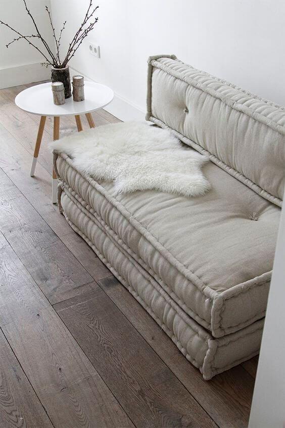 Poltrona cama retrátil de futon