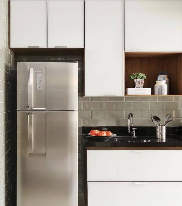 Revestimento 3D para cozinha bege