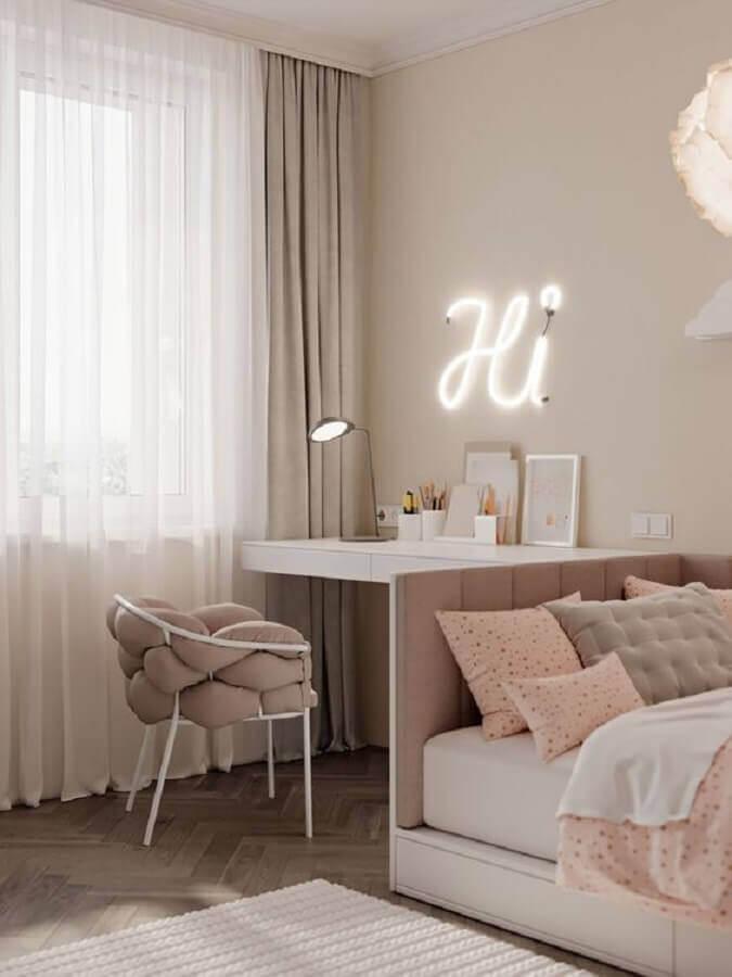cadeira decorativa para quarto feminino moderno Foto Pinterest