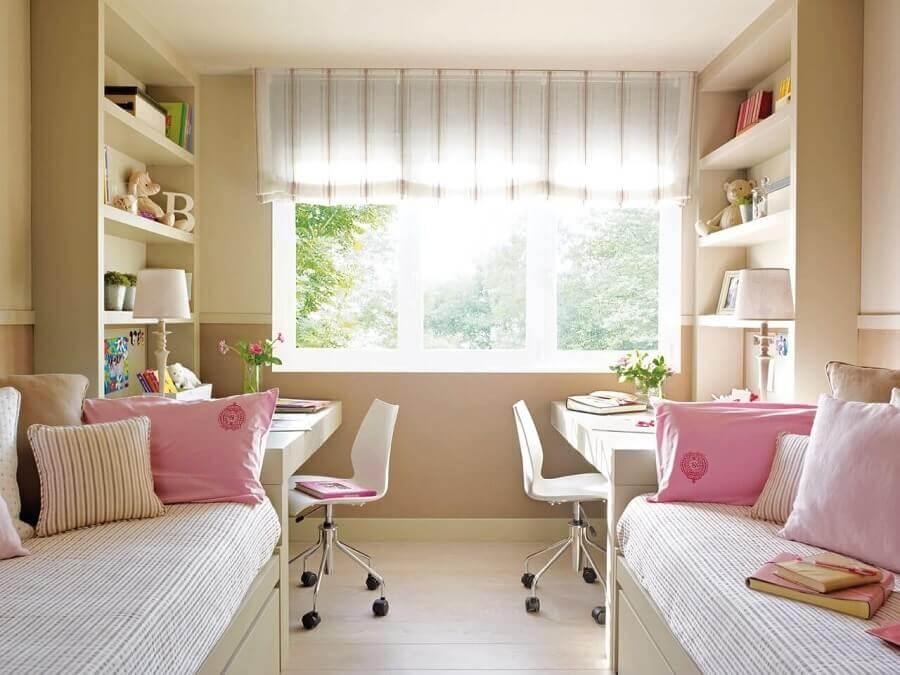 cadeira para quarto feminino de solteiro duplo Foto Pinterest