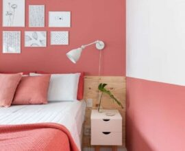 decoração de quarto de mulher branco e rosa Foto Apartamento 203