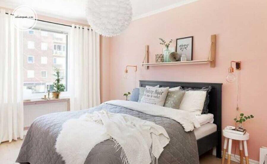 decoração de quarto de mulher cor de rosa Foto Yandex