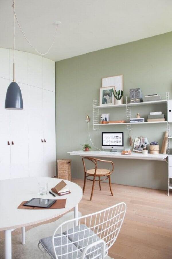 decoração simples com cadeira para mesa de estudo suspensa Foto Futurist Architecture