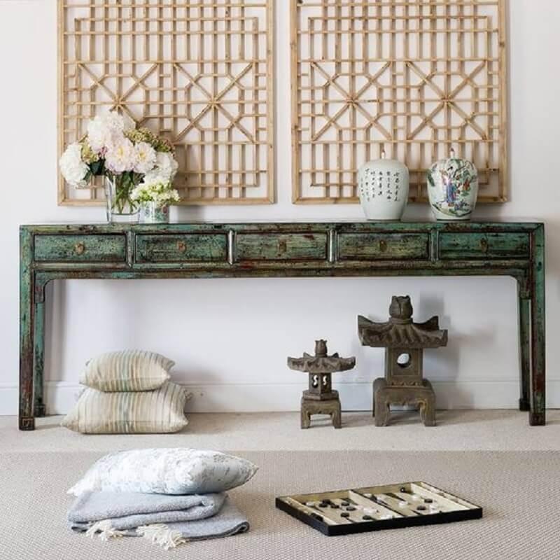 ideia de casa com decoração asiática Foto TUO Agency