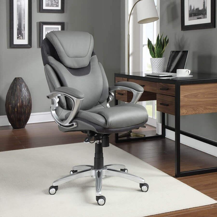 modelo de cadeira de estudo confortável e ergonômica Foto Pinterest