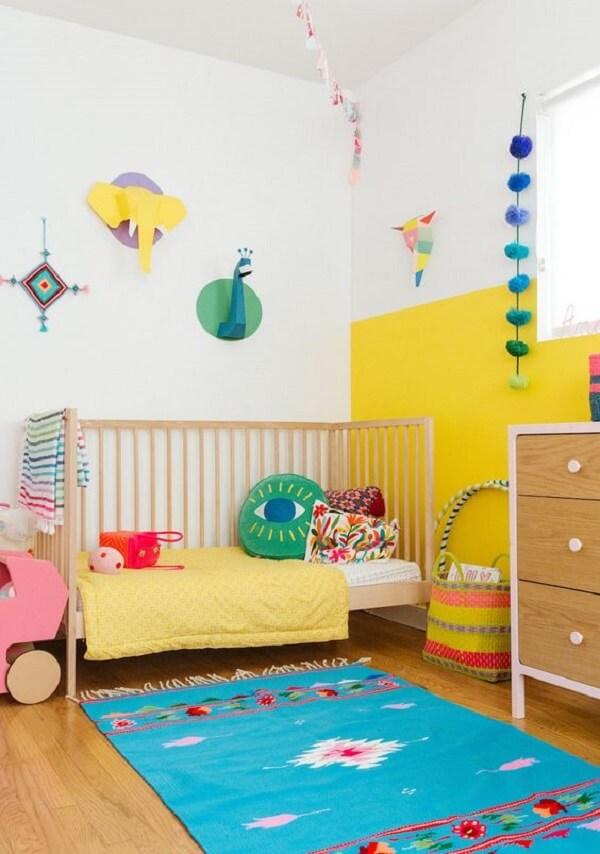 Almofadas decorativas infantil em diferentes formatos. Fonte: Pinterest
