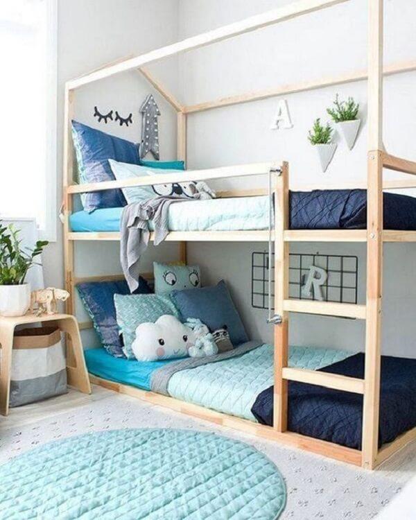 Aposte em diferentes modelos de almofadas decorativas infantil. Fonte: Revista Viva Decora