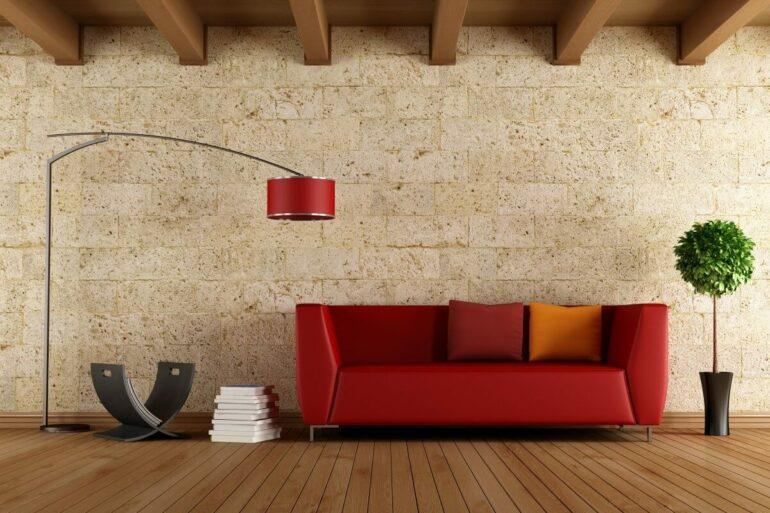 Aproveite sua luminária para combinar com a sua decoração. Fonte: Envato Elements