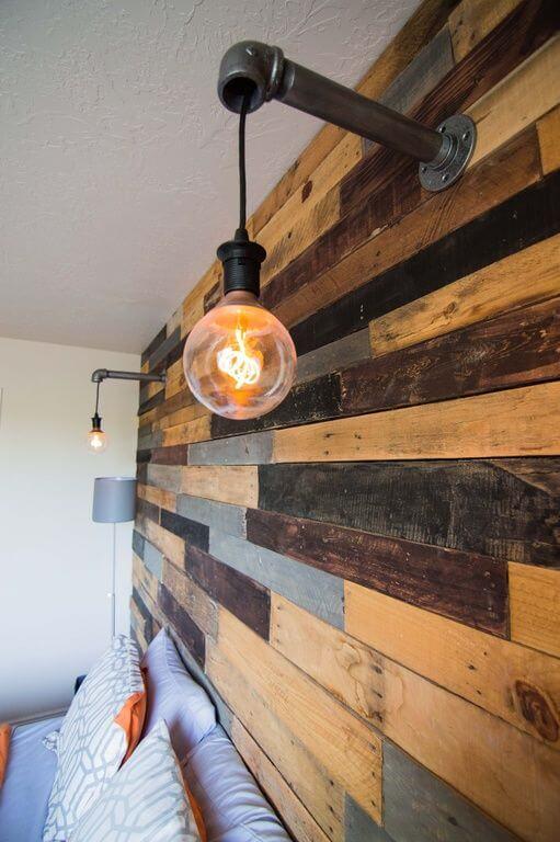 Arandela industrial de pvc e lâmpada