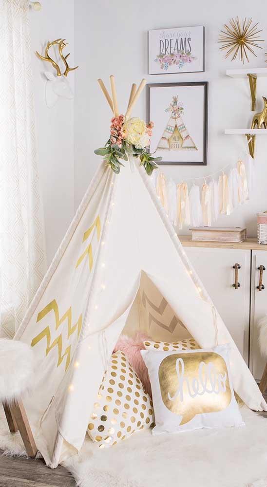 Como fazer uma cabana em casa aconchegante