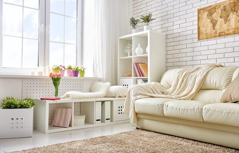 Conforto é a palavra-chave para compor a decoração de casa durante a estação mais charmosa do ano. Foto: habitissimo.com