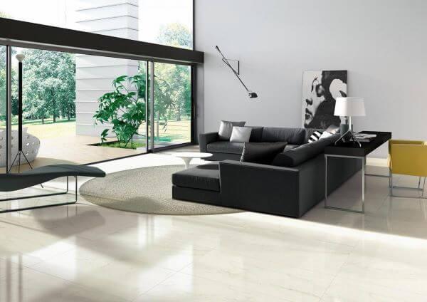 Cores de porcelanato para sala de estar
