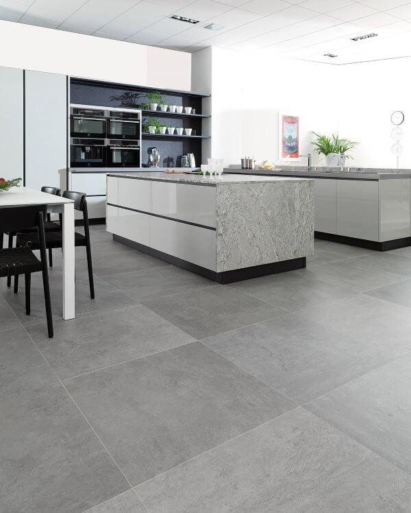 Piso cimento queimado para cozinha