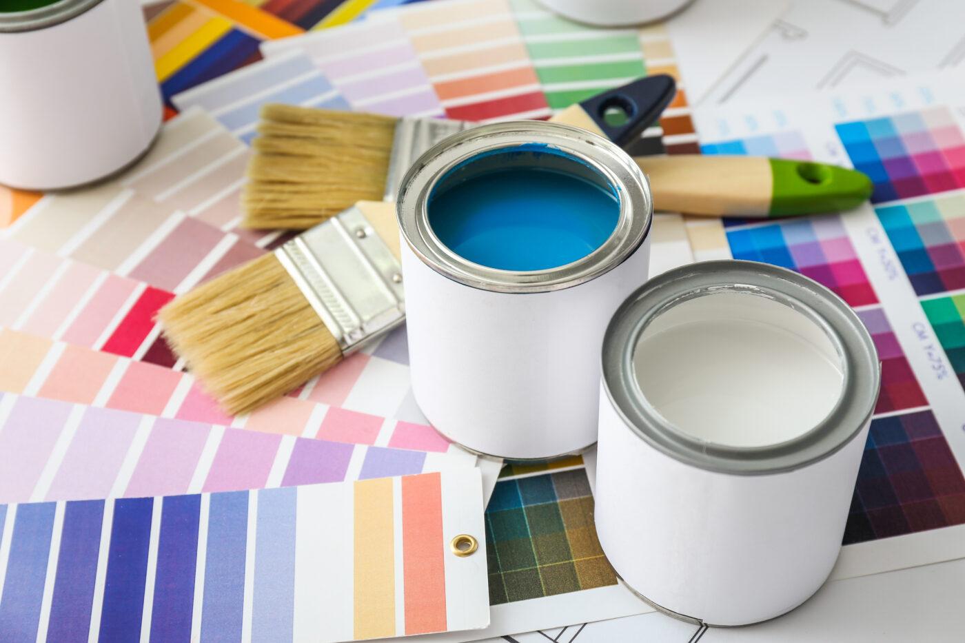 Escolha os melhores tipos de tinta para sua reforma