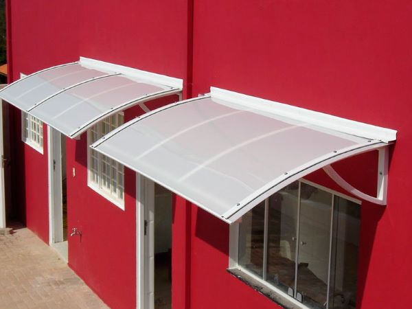 Toldo fixo para janela