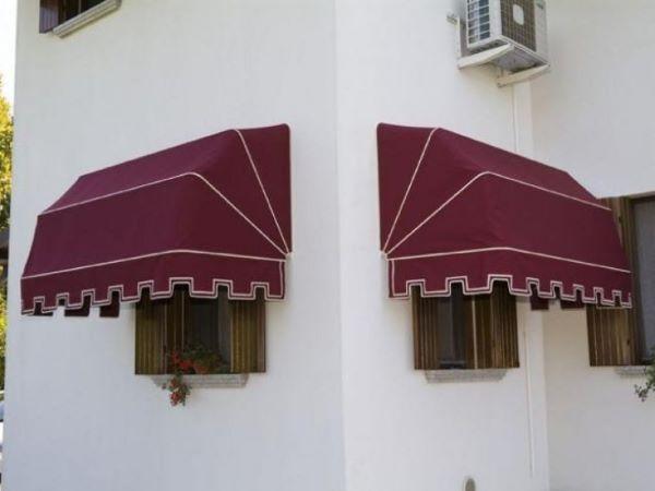 Toldo par janela marsala