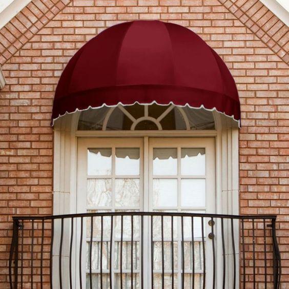 Toldo para janela de quarto com porta balcao