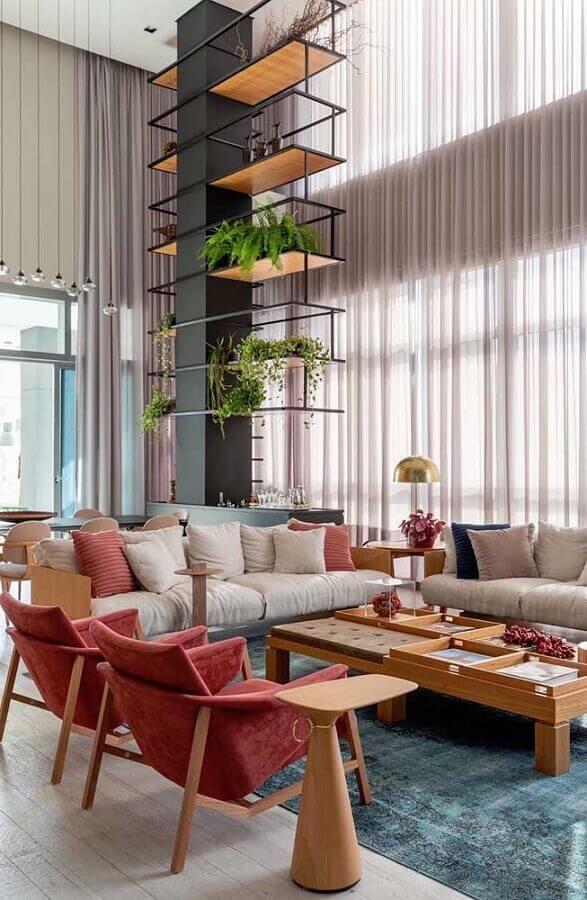 decoração de sala de visita moderna Foto Home Fashion Trend