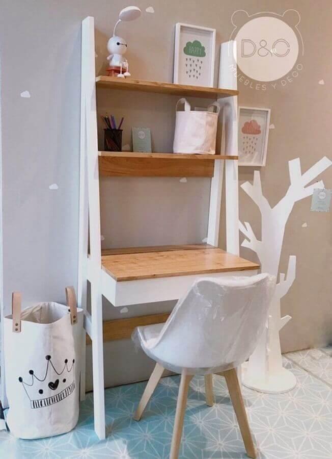 escrivaninha para estudo para decoração de quarto infantil Foto Muebles y Deco