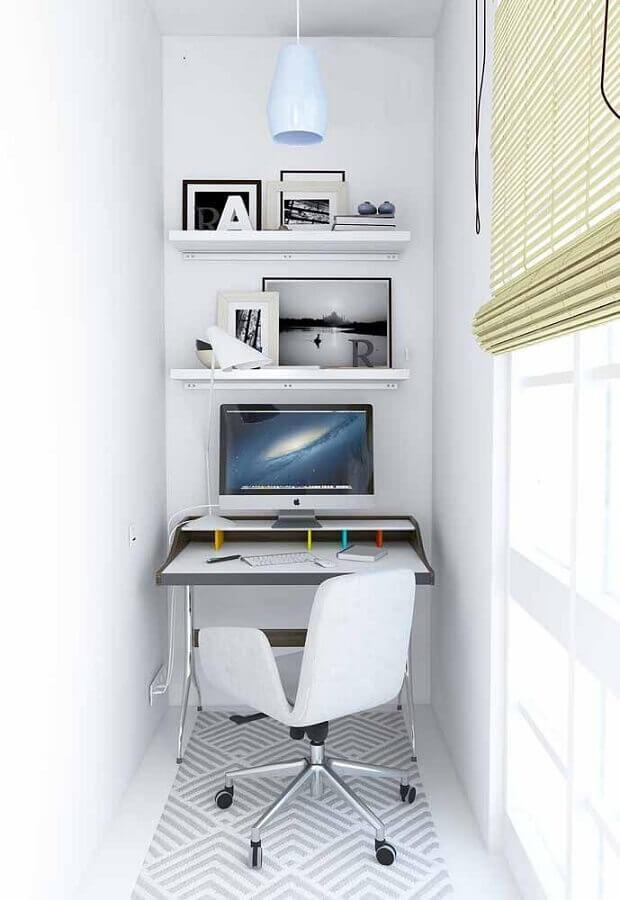 escrivaninha pequena para estudo para decoração minimalista Foto Pinterest