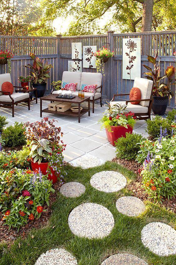 Escolha os melhores móveis para seu jardim