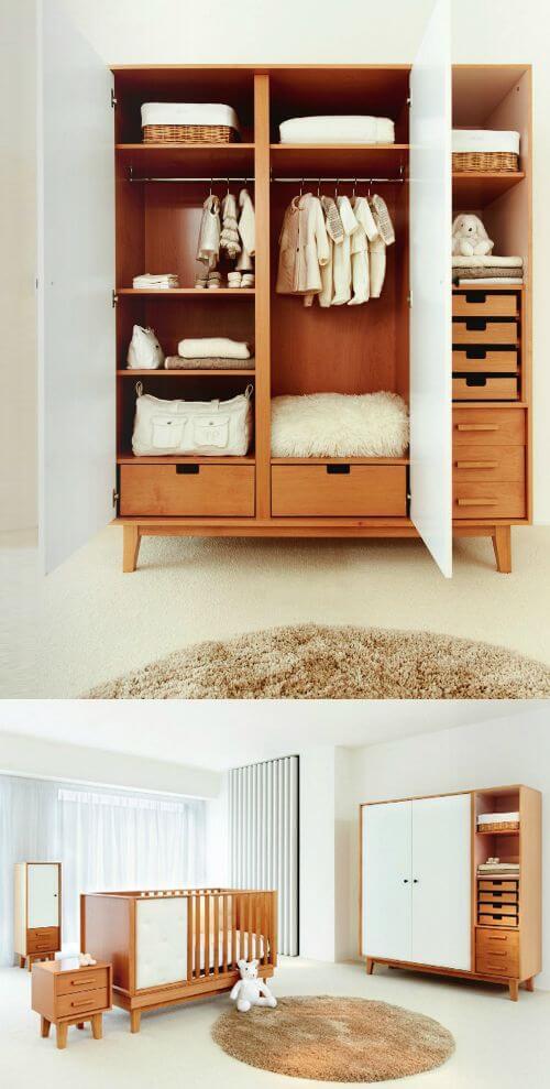 Guarda roupa rustico de madeira para sala