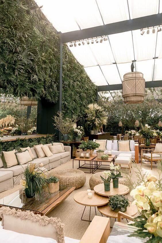 Ideias para fazer festa no jardim moderno
