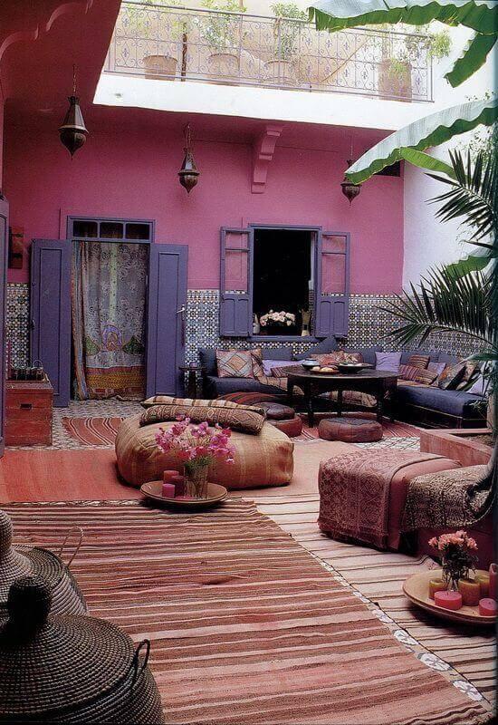 Ideias para jardim confortável com móveis macios