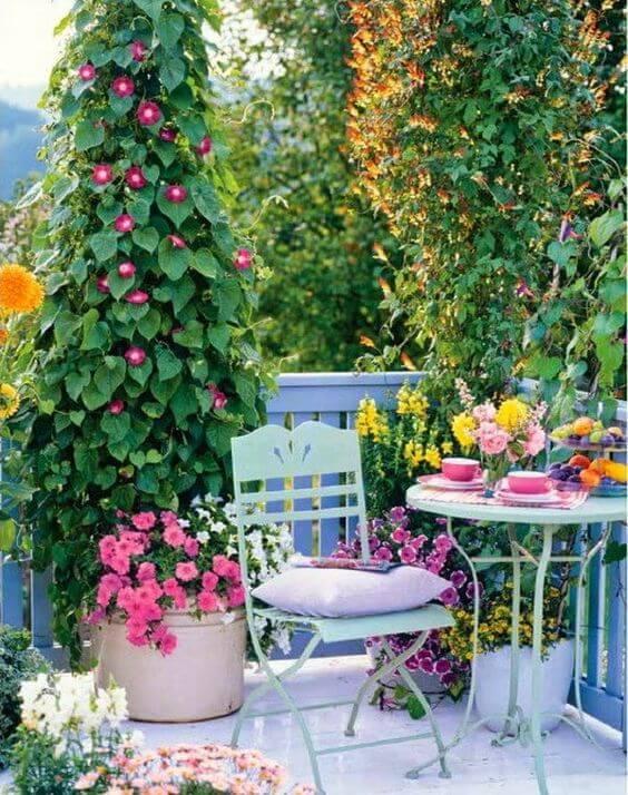 Ideias para jardim na varanda de casa moderna