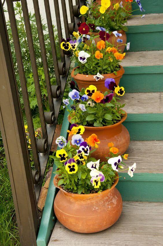 Ideias para jardim simples e bonito