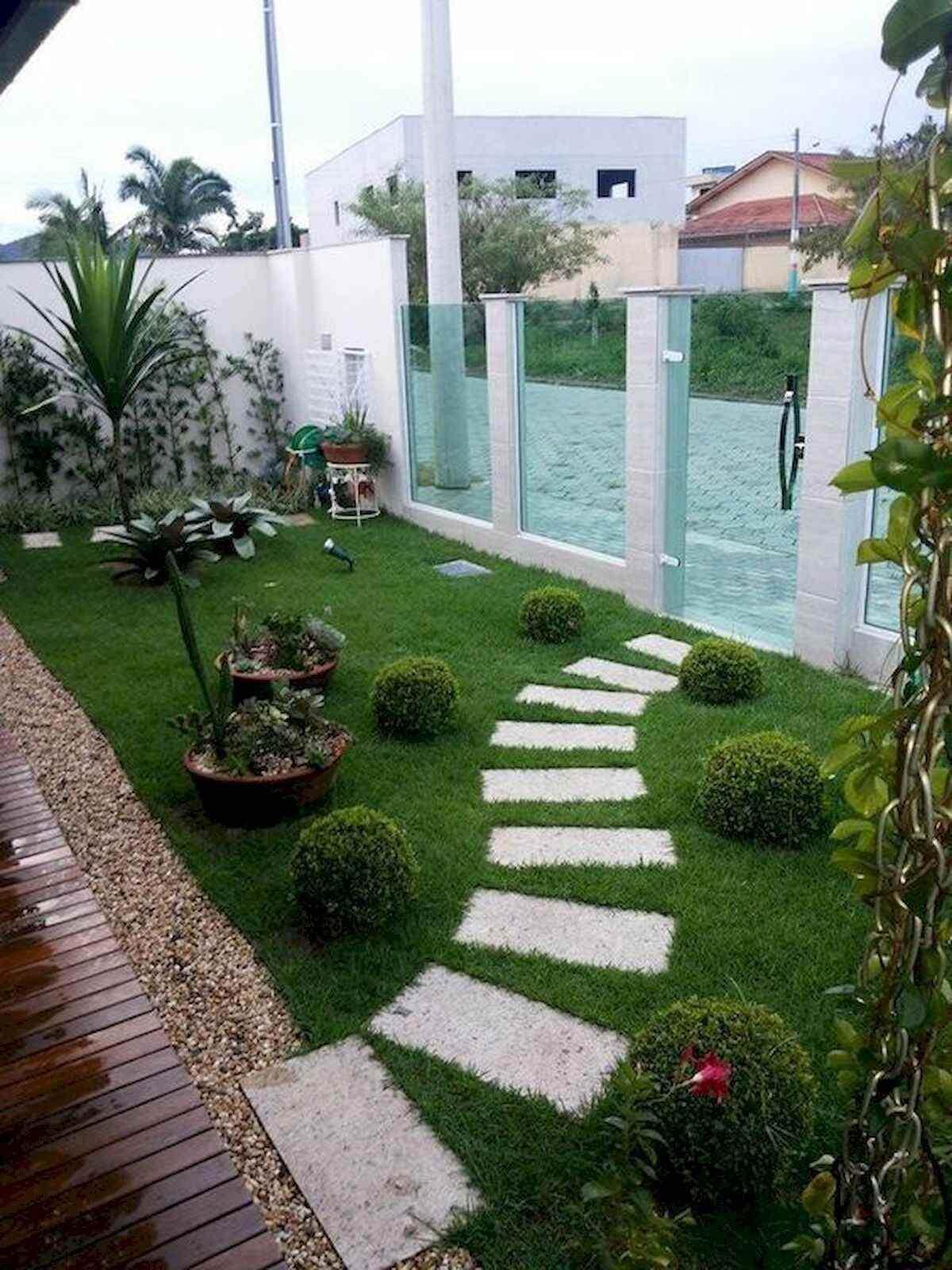 Ideias para jardim simples na entrada de casa