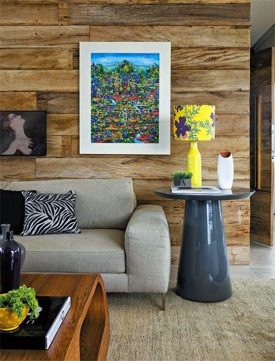 Mesa de apoio cone para sala de estar aconchegante