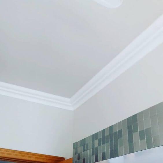 Moldura de isopor para teto