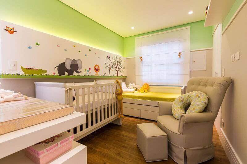 ideias para quarto de bebê com decoração temática Foto Chaves na Mão