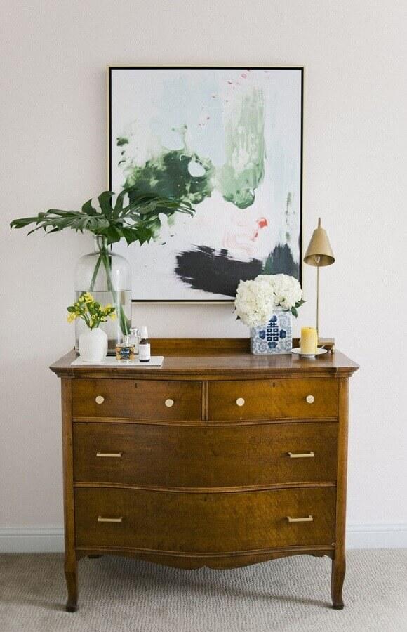 modelo antigo de cômoda para quarto Foto Pinterest