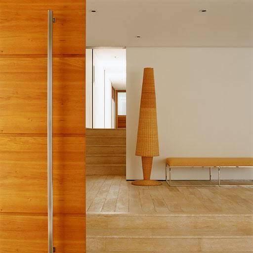 Porta de madeira para sala de correr