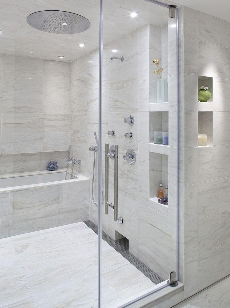Cantoneira para banheiro com nichos