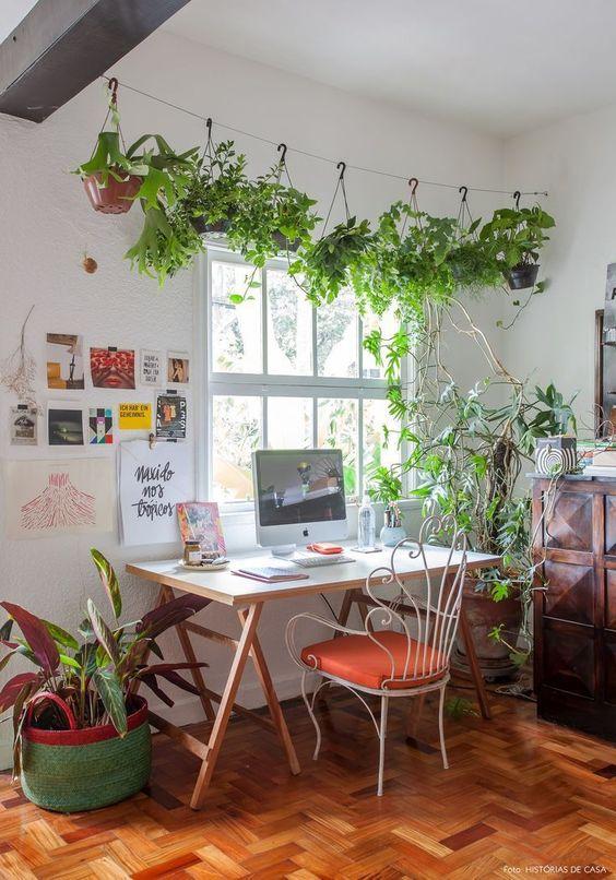 Cavalete de madeira para mesa de escritório rústica