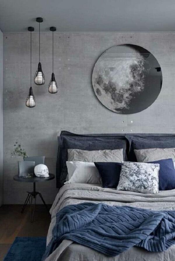 Cerâmica de revestimento no piso e na parede traz um contraste charmoso. Fonte: Pinterest