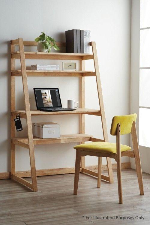 Escrivaninha estante cavalete de madeira