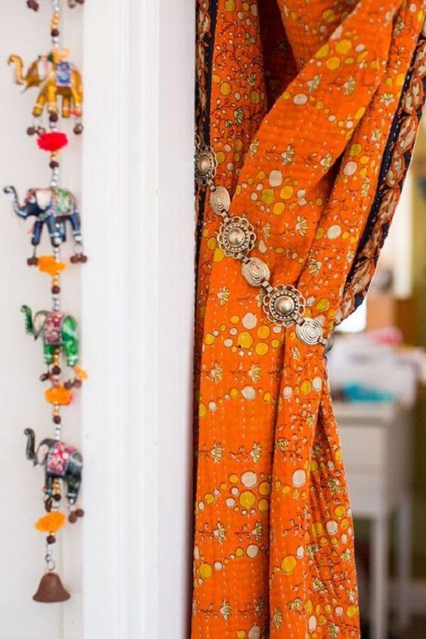 Estampas e objetos que fazem toda a diferença na decoração indiana. Fonte: Pinterest