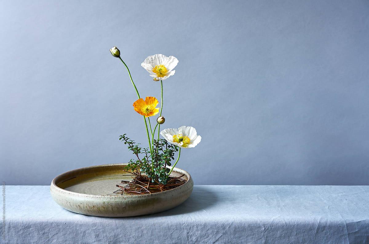 Ikebana arte de arranjos
