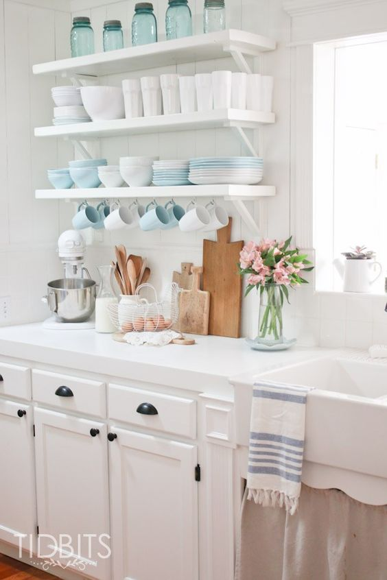 Lista de utensílios de cozinha simples e charmosa
