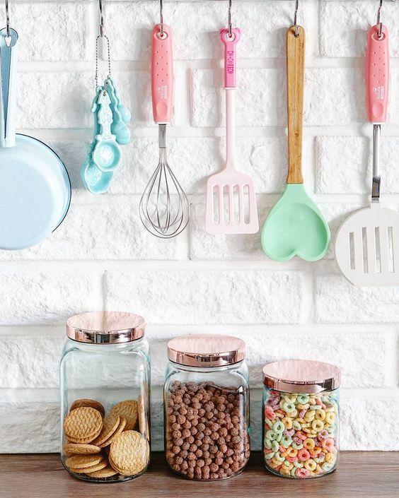 Lista de utensilios para cozinha simples