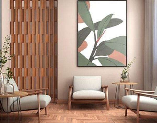 Sala de espera com móveis modernos