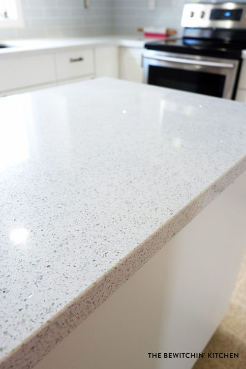 Silestone branco stellar para cozinha moderna