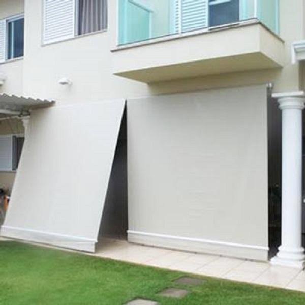 Toldo cortina retrátil para varanda