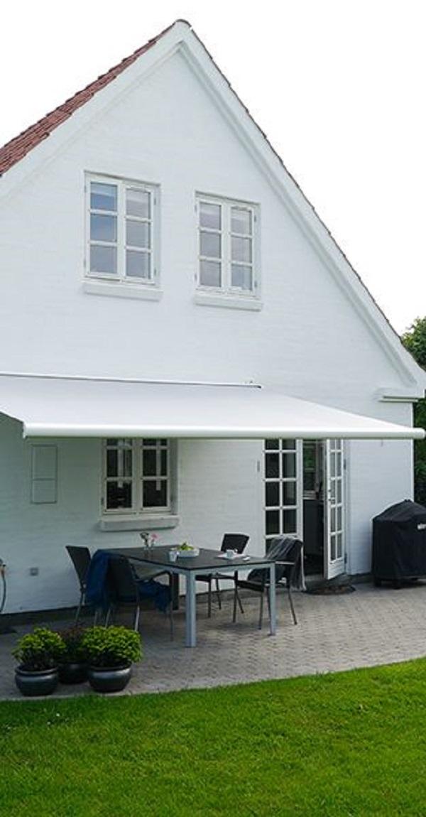 Toldo para varanda retratil branca