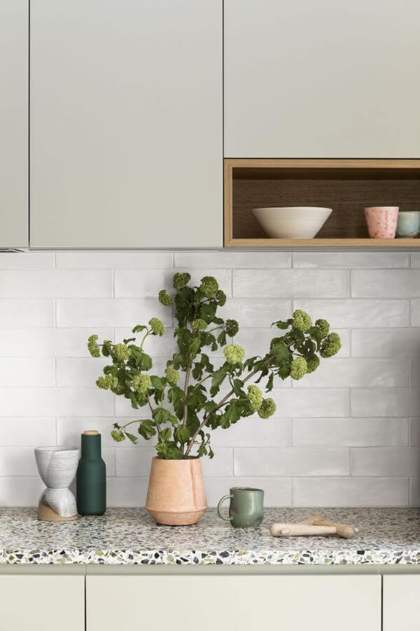 Pedra para bancada de cozinha em granito cinza